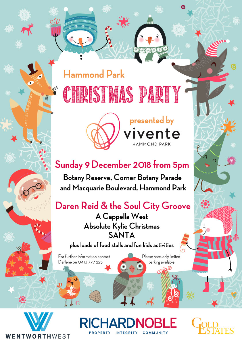 Annual Hammond Park Christmas Party 2018 - Vivente