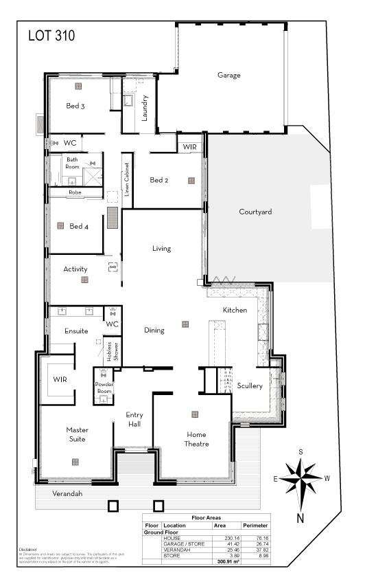 Hammond Park Sales Office Layout