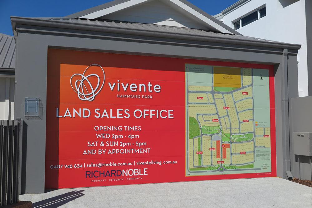 Vivente Estate Hammond Park Sales Office