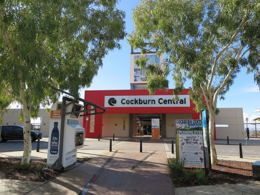 Cockburn Central Train Station