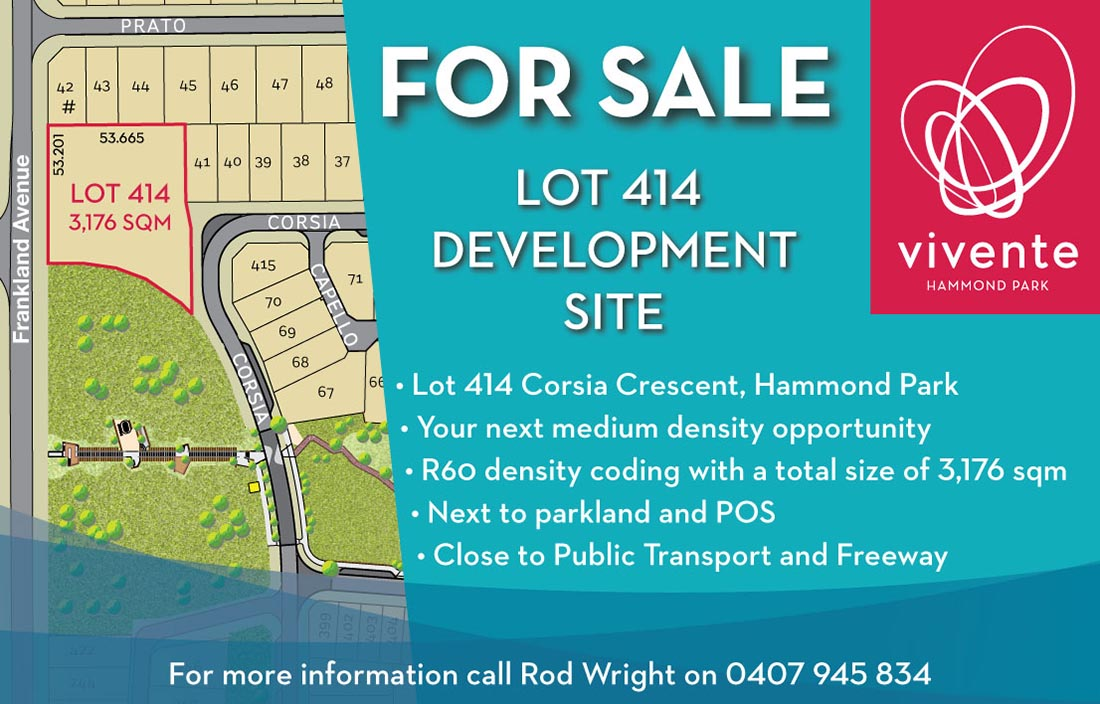 Lot 414 For Sale Ad