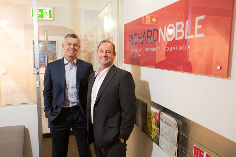 Managing Director Alex Gregg and Commercial & Valuation Director Patrick Lilburne