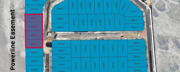 Wentworth West Lot 72-75 Plan