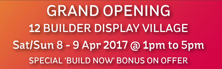 Display Village Opening Flyer